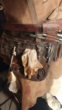 A closer look at the outrageous outfits from 'Mad Max: Fury Road'. The details of George Miller's amazing world are just part of the fun