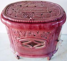 Antique French Stove Co Deville LNP B Pink