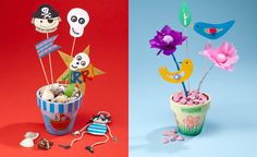 Create themed party pots