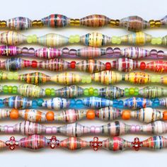 ABAYUDAYA Necklaces, handmade in Uganda are keeping the village alive and thriving w/ clean water, bed nets and HIV prevention they're beautiful. Hiv Prevention, Water Bed, Uganda, Necklaces, Handmade, Beautiful, Color, Jewelry, Hand Made