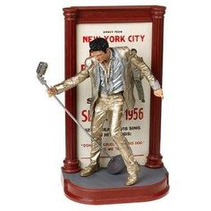 McFarlane Toys Rock n' Roll Action Figure Elvis #4 Gold Outfit