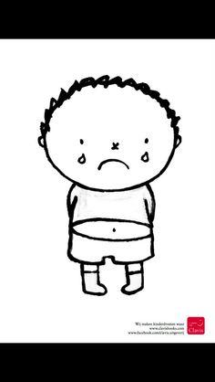 Verdrietig persoon