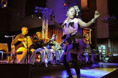 29/11/2013 Les sultans du swing du groupe Kithara de Zanzibar à l'Eglise de Landrecies, en partenariat avec la Ville de Landrecies et la Chambre d'eau
