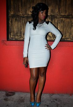all white clothes for all white party | Bodycon Dress at All White Party in Downtown Kingston - Kingstonstyle