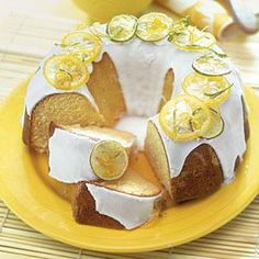 Lemon-Lime Pound Cake Recipe | MyRecipes.com