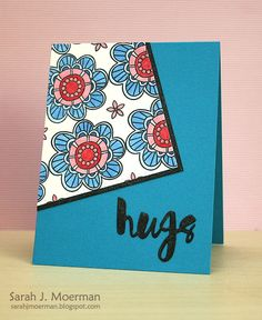 Those flowers remind me of Passion flowers. Simon Says Stamp June Card Kit Reveal!