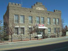 Goldfield Historic District in Esmeralda County, Nevada.