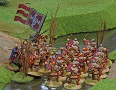 SAGA Byzantines vs. Welsh, Clash at the ford AAR