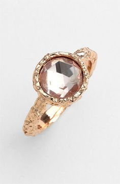 MARC BY MARC JACOBS 'Exploded Bow' Stone Ring