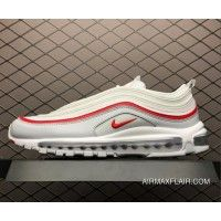Nike Air Max 97 Red Leather Essential Red Leopard Black 3M Reflective AQ0655 121 Mens Womens Winter Sneakers aq0655 121