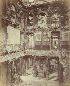 Alphonse Libert - Ruins of Palais des Tuileries, 1870-71