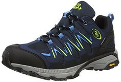 Bruetting EXPEDITION, Herren Trekking- & Wanderhalbschuhe, Blau (MARINE/BLAU/LEMON), 40 EU (6 Herren UK) - http://uhr.haus/bruetting/bruetting-expedition-herren-trekking-blau-blau-6