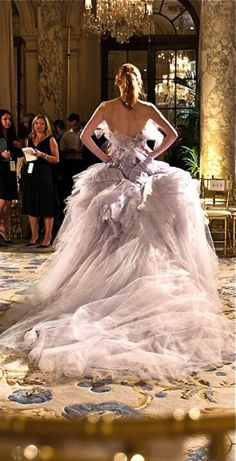 Marchesa | More here: http://mylusciouslife.com/prettiness-luscious-pastel-colours/
