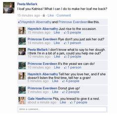 Peeta gets a facebook xD