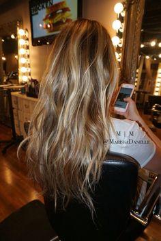 Jessie James Decker hair | hair by @marissadanelle