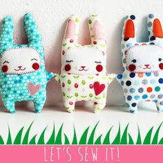 Let's Sew an Amazing Little Easter Bunny, Honey!