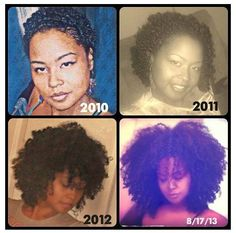Stages of natural hair growth Be Natural, Natural Hair Tips, Natural Hair Growth, Natural Hair Journey, Natural Hair Styles, Big Hair, Your Hair, Natural Hair Inspiration, Curly Girl