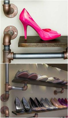 shoe storage ideas 20 Outrageously Simple DIY Shoe Racks And Organizers You'll Want To Make Today