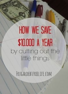 Seven ways we saved $6,000 in six months — Frugal Debt Free Life - Limitless Life on a Limited Budget
