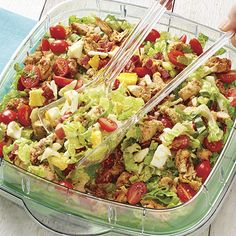 Chopped California Cobb Salad - Recipes | The Pampered Chef