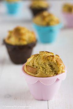 Semplicemente Light: Muffin alle mele gialle e rosse Val Venosta   ricetta light senza burro