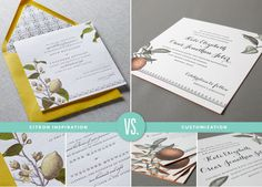 108 best our letterpress wedding invitations images on pinterest