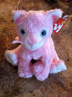 "TY Beanie Babies ""Carnation"" Cat"