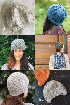 Hats for skill-building and gift-giving — free patterns
