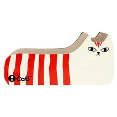 Cat Scratch Stripe Orange Black, $25, now featured on Fab.