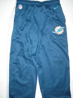 a80bb256787d Orleans Darkwa Team Issued Miami Dolphins  32 Nike Shield Nailhead XL  Therma-Fit Training Pants