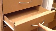 How To Make A Cardboard Drawer