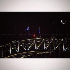 #FlockOfStars  #Moonlight #MondayNight 14th #December2015 #seagulls #feeding above the Sydney Harbour Bridge looking like #stars  pure evening magic  from #Kirribilli #MoonRise #ClearSkys  #ClickSydney #SydneyLocal #wanderlust #seeAustralia #iLoveSydney #Sydney_insta #Canon_photos #northSydney #SydneyHarbourBridge #view  #WoWAustralia #magicPict #wonderfulPlaces #special_shots #newSouthWales #itsAmazingOutThere #canonPhotography #flags #SydneyHarbourBridge  #BillieHoliday - What A Little…
