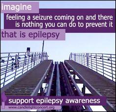 Epilepsy Ruined my Life Epilepsy Facts, Epilepsy Quotes, Epilepsy Awareness Month, Epilepsy Seizure, Seizure Symptoms, Seizure Disorder, Anxiety Disorder, Chronic Illness, Chronic Pain