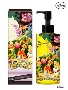 DHC×Disney|ディズニーコラボグッズ♡ cleansing Oil alice