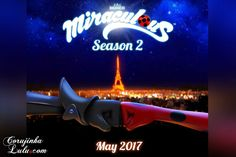 Miraculous Ladybug: Datas oficialmente anunciadas para a 2ª Temporada e Websérie | ©CorujinhaLulu.com