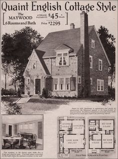 1000 Images About 1930s And 1940s American Homes On
