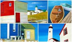 Bring the feel of out east to your home with these maritime masterpieces. East Coast Travel, Wall Candy, Cape Breton, Nova Scotia, Craft Fairs, Home Art, Wall Art Decor, Art Gallery, True North