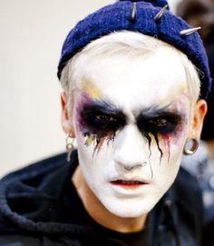 sjemakeup: make-up by Sarah Jane Ellis Male Makeup, Clown Makeup, Scary Makeup, Sfx Makeup, Costume Makeup, Makeup Art, Makeup Looks, Halloween Face Makeup, Makeup Ideas