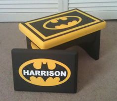 Handpainted MadetoOrder Step Stool and Personalized by IHeartUKids, $60.00