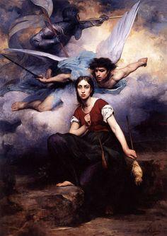 Eugène-Romaine Thirion, Jeanne d'Arc entendant des Voix, 1876