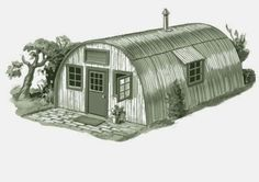 Quonset Hut Homes   In This Poor Housing Market, Quonset Huts Are Popular  With New Homeowners As Well As With Retirees Looking For An Affordable Way  To Move