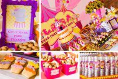 Circo de Menina - Circus to girl - Circus Theme - Circus Party