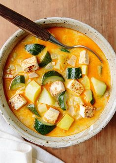 Recipe: Heidi Swanson's Summer Squash Soup with Coconut Milk