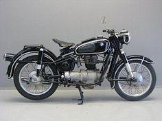 BMW 1962 R27 250 cc 1 cyl ohv