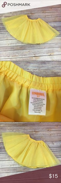 Gymboree Daffodil Garden Yellow Tulle Skirt NEW 5T Gymboree Daffodil Garden Yellow Tulle Skirt NEW NWT 5T  New with tags.  Lined.  Lots of tulle and elastic waist band.  Great for twirling.  #twirly #twirl #tutu #yellow #skirt #gymboree #daffodilgarden #new #nwt #springhassprung #easter Gymboree Bottoms Skirts
