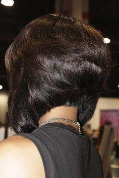 16 Charming Black Bob Hairstyles for 2019 - Pretty Designs Bob Hairstyles black layered bob hairstyles Black Bob Hairstyles, Cool Hairstyles, Bob Haircuts, 2015 Hairstyles, Layered Bob Hairstyles For Black Women, Braided Hairstyles, Hairstyles Pictures, Casual Hairstyles, Layered Haircuts
