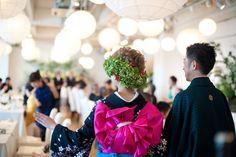 Love the hair Japanese Wedding, Dress Hairstyles, Headdress, Hair Pieces, Wedding Planning, Bouquet, My Love, Party, Kimono