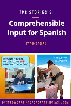 Spanish TPR Stories and Comprehensible Input Mega Bundle for Levels Spanish Vocabulary, Grammar And Vocabulary, Teaching Spanish, Spanish Grammar, Spanish Interactive Notebook, Interactive Notebooks, Ap Spanish, Spanish Lessons, Cloze Activity