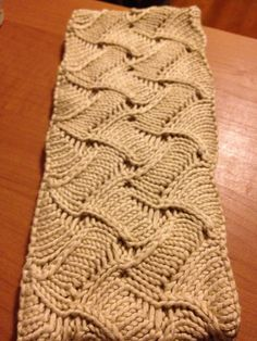 Clemence Scarf By Katya Frankel - Free Knitted Pattern - (ravelry)