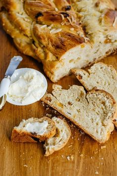 Recipe: Sweet Braided Czech Bread with Almonds & Raisins Houska? Vanocka? Mazanec? We may not use the right name for it, but we make it every year!